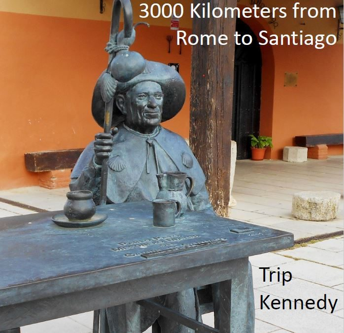 A Pilgrims Journey; 3000 Kilometers from Rome to Santiago – A Book Review
